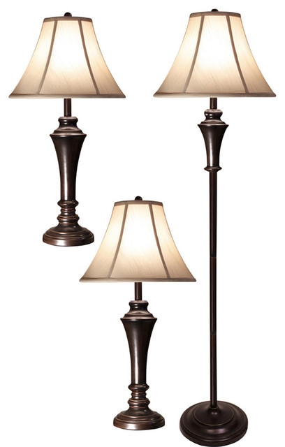 table lamps one floor lamp transitional lamp sets by lighting. Black Bedroom Furniture Sets. Home Design Ideas