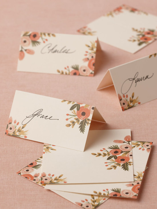 Hothouse Foliage Place Cards, Set of 8 -