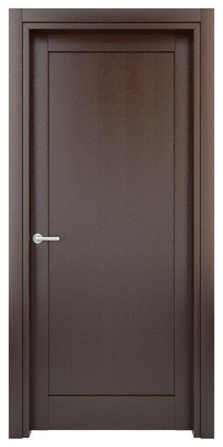 Interior door solid wood construction laminated wenge for Solid wood door construction