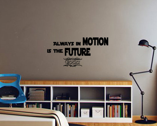 Vinyl Decals Motion Is Future Star Wars Quote Home Wall Decor Removable Sticker -