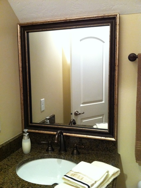 Mirror Frame Kit - Traditional - Bathroom Mirrors - salt lake city ...