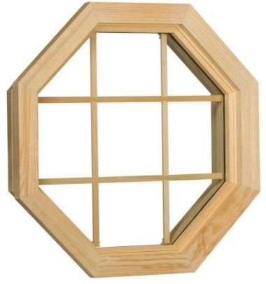 Century Window. Wood Stationary Octagon Windows, 24 in. x 24 in ...
