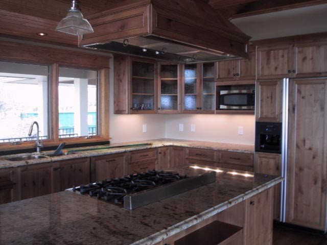 Thunder Mountain Remodel rustic-kitchen