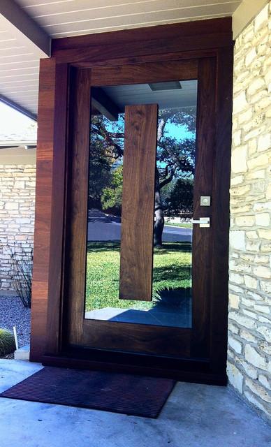 Wilson Residence - Modern - Front Doors - austin - by Ivan ...