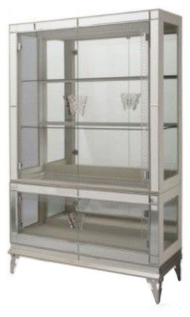 Mirrored Display Cabinet - $2,700 Est. Retail - $1,700 on Chairish.com ...
