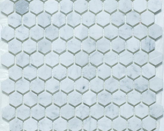 Hexagon subway tile