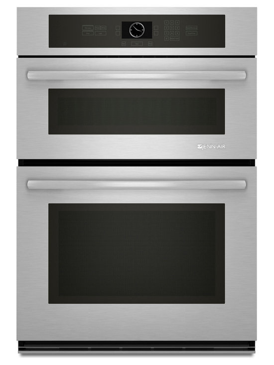"""Jenn-Air 30"""" Combination Microwave/wall Oven, Stainless Steel/Black 