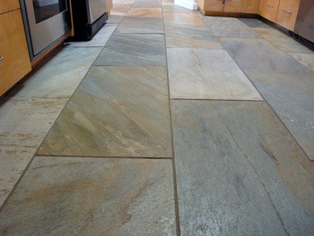 Stone Pewter Tile Mediterranean Wall And Floor Tile