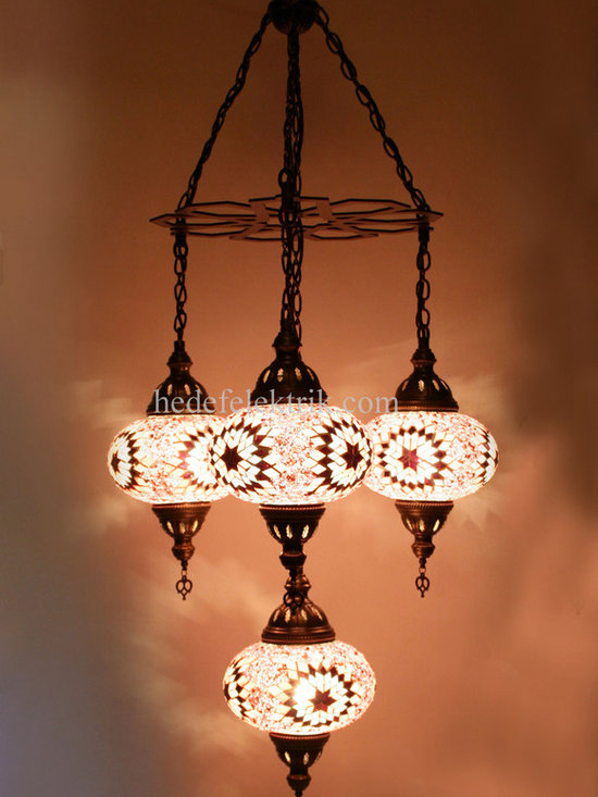 Turkish Style - Mosaic Lighting - Code: HD-04161_12