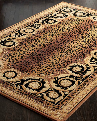 Roman Leopard Rug eclectic-rugs