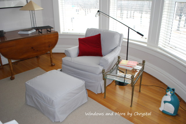 Slipcovers contemporary-furniture