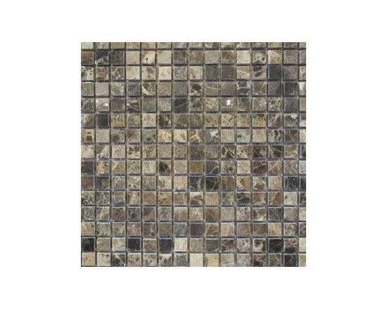 Emperador Dark Natural Stone Mosaic -