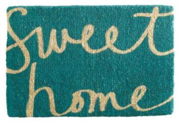 Garnet Hill Doormat Collection, Sweet Home contemporary-doormats