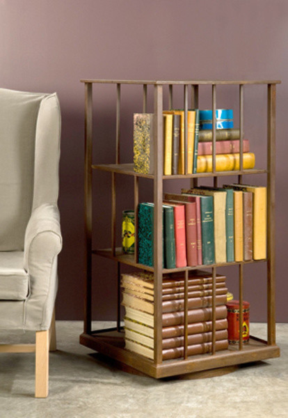 BoBo Intriguing Objects Wright Turning Bookshelf traditional-bookcases