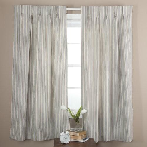ellis curtain springfield stripe pinch pleat patio curtain