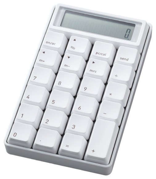 10 Key Calculator modern-desk-accessories