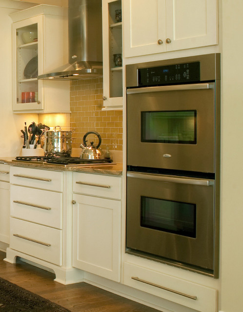 Oven cabinet specialty kitchen cabinets cliqstudios for Built in oven kitchen cabinets