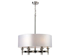 Pembroke Drum Chandelier contemporary-chandeliers