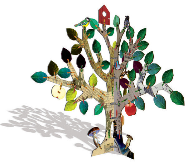 Kidsonroof Totem Tree eclectic-kids-toys-and-games