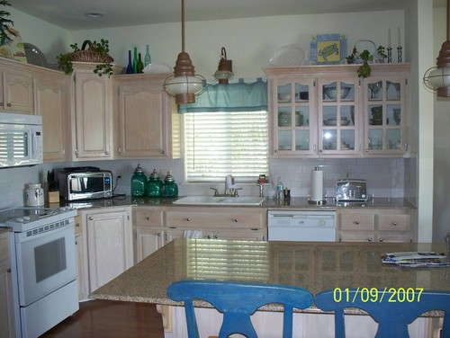 HELP Need Help With Kitchen Cabinets Pickled No