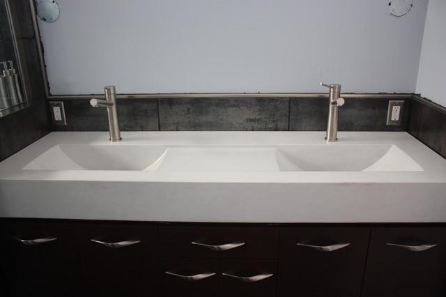 Eclipse Sinks : Concrete Eclipse Sinks - Bathroom Sinks - toronto - by everGreen Cast ...