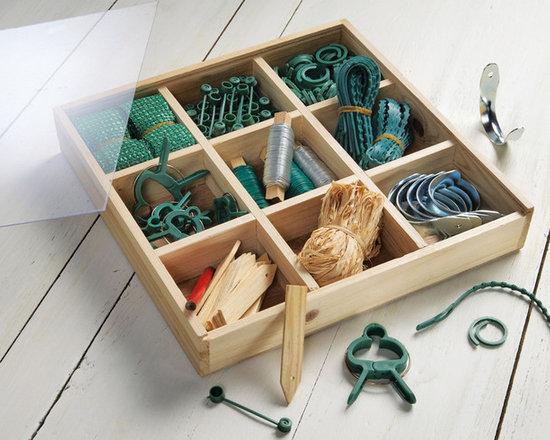 Gardening Accessories Wooden Box Kit -