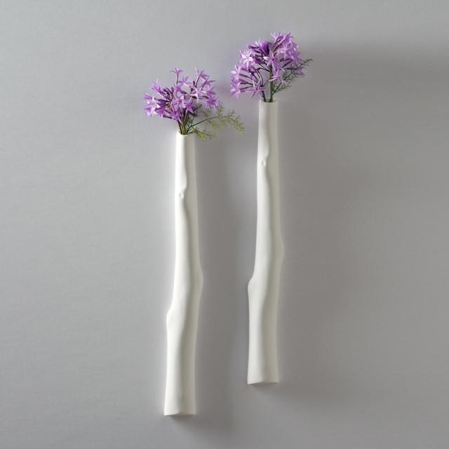 Shine Labs - Cypress Wall Vase modern-vases