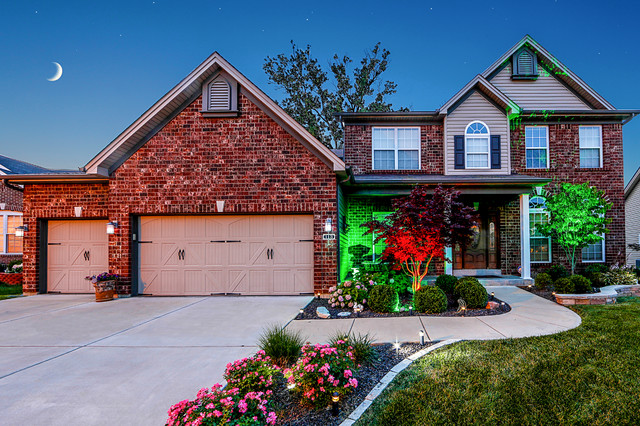Led Home Exterior Path And Accent Lighting Traditional Exterior St Louis By Super Bright