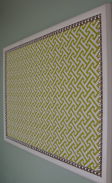 Decorative bulletin board large by only lally for Modern cork board