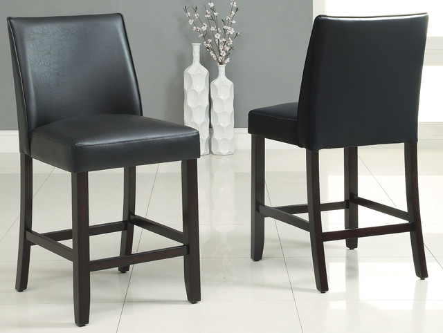 Corona Leather Counter Stool Transitional Bar Stools And Counter Stools Vancouver By