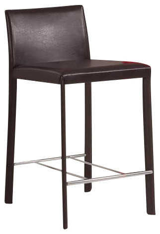 Counter Height Stool (Chocolate) By Coaster (Set Of 2) contemporary-bar-stools-and-counter-stools