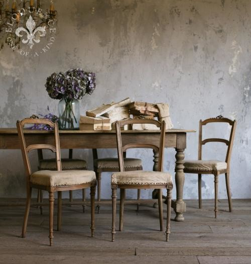 Vintage Side Chairs Traditional Dining Chairs By
