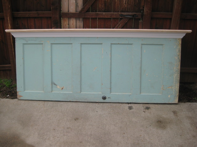 Headboards made from old doors - Eclectic - Headboards - dallas - by ...