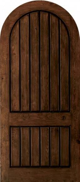 Jeld-Wen A1322 Knotty Alder Woodgrain Radius Top Panel ...