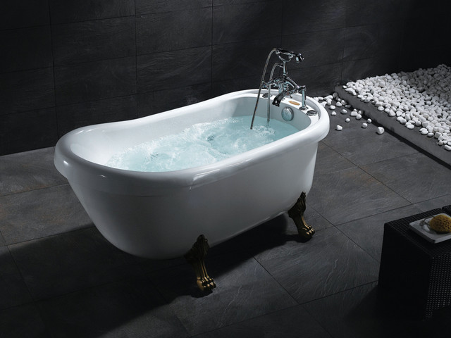 Ariel Bt 062 Bear Claw Whirlpool Bath Tub Traditional