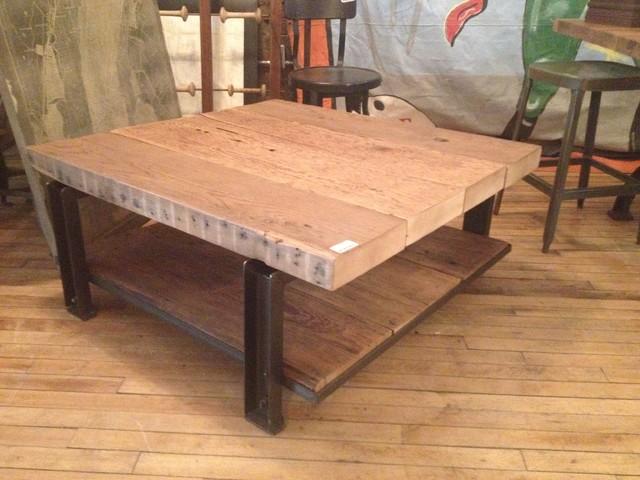 Repurposed Furniture Industrial Coffee Tables Toronto By Metropolis Living