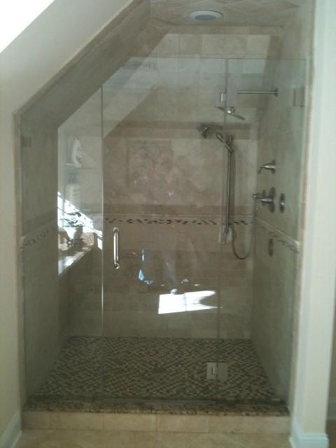 Frameless Glass Shower Enclosures Contemporary Shower