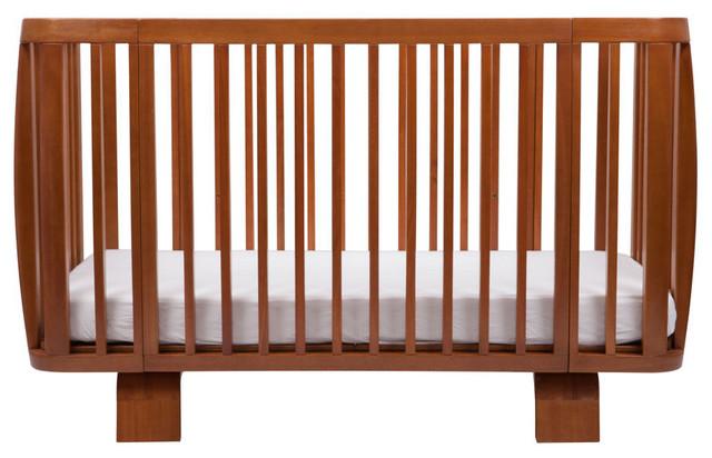 Bloom Retro Crib, Oak midcentury-cribs