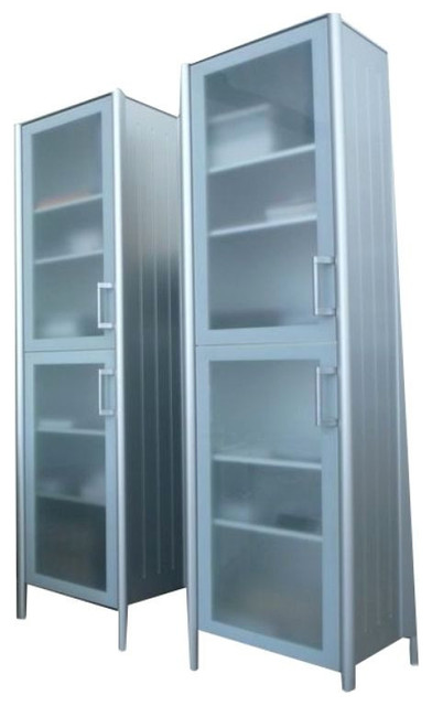 Bulthaup System 20 Tall Cabinets - $8,000 Est. Retail - $4,000 on Chairish.com contemporary-kitchen-cabinetry
