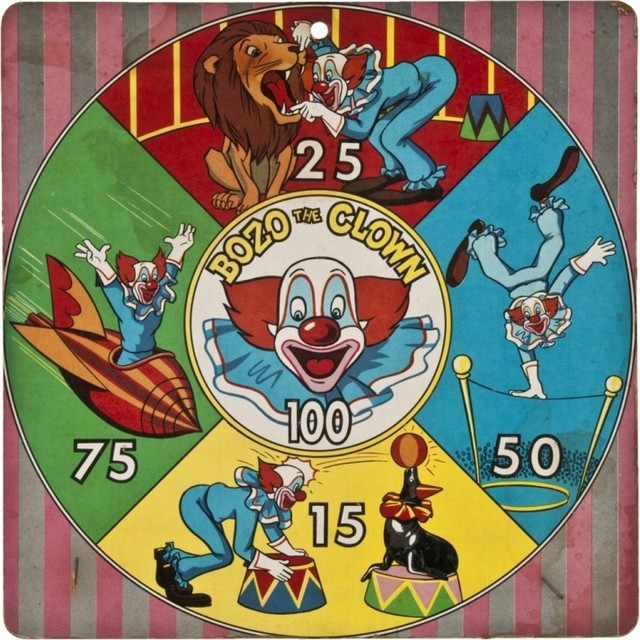 Clown Dart Board eclectic-darts-and-dartboards