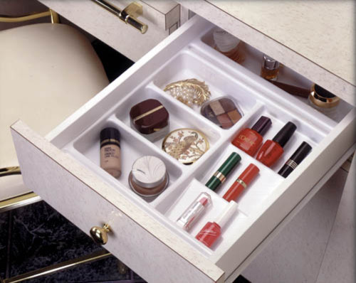 Cosmetics Organizer For Bathroom Vanity By Jamie Gold