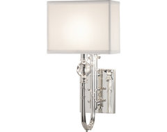 Ondine Silver Wall Sconce contemporary-wall-lighting