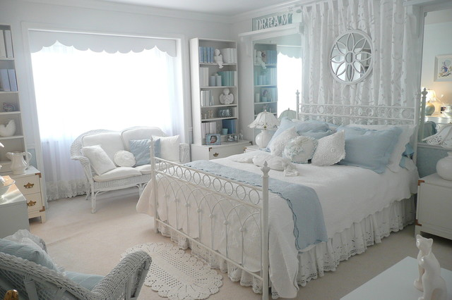 Beautiful Romantic Bedroom traditional bedroom