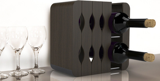 Mirage Expandable Wine Rack modern wine racks