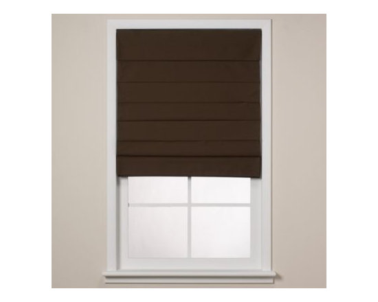 Real Simple - Real Simple  Roman Window Shade - Create a cozy atmosphere in your home with these shades. The shades are cordless and feature a blackout thermal backing and cellular fabric that provides two layers of additional energy-saving insulation to help you save on heating and cooling costs.