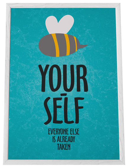print- Be yourself-Everyone else is already taken modern-nursery-decorJust Be Yourself Everyone Else Is Taken