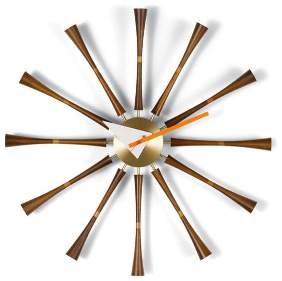 Vitra Nelson Spindle Clock Modern Wall Clocks by