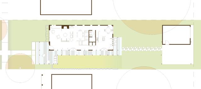 St Paul Minnesota Home Contemporary Floor Plan