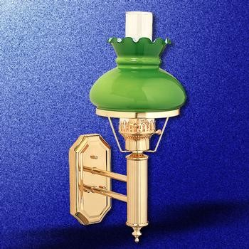 Pollianna Wall Sconce With Glass Hurricane : High Hurricane Wall Sconce - Traditional - Wall Sconces - boston - by The Renovator s Supply, Inc.
