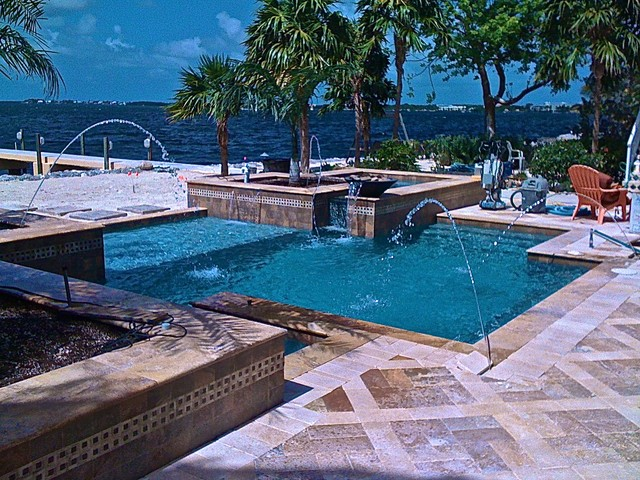 Swimming Pool Construction Key Largo Tropical